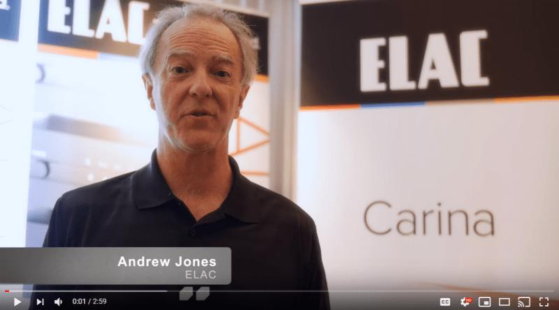 Watch: AXPONA 2019-Master Designer Andrew Jones Talks About His Newest Audiophile Speakers