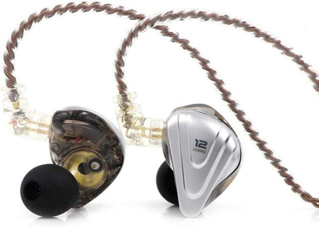 Linsoul KZ ZSX 5BA+1DD 6 Driver Hybrid in-Ear HiFi Earphones