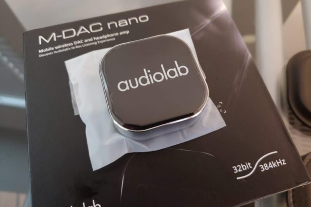 Audiolab M-DAC nano Mobile Wireless DAC Amp