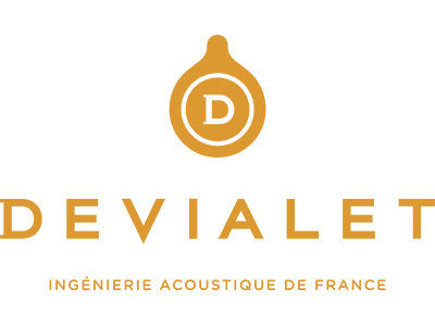 Logo Devialet hifi Vaudaine