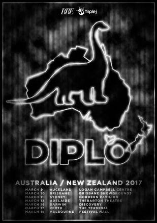 diplo-australian-tour-poster