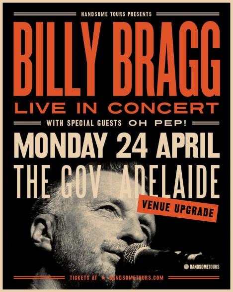 Billy Bragg Show Poster