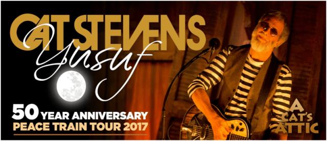 Cat Stevens Australia Tour Banner