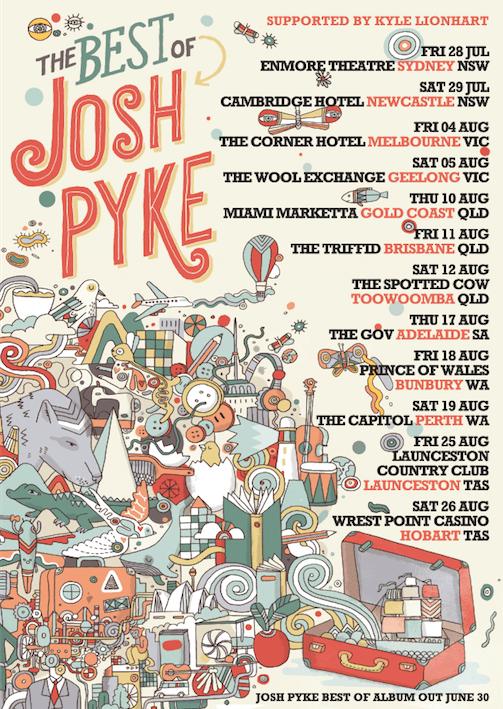 Josh Pyke Tour Poster