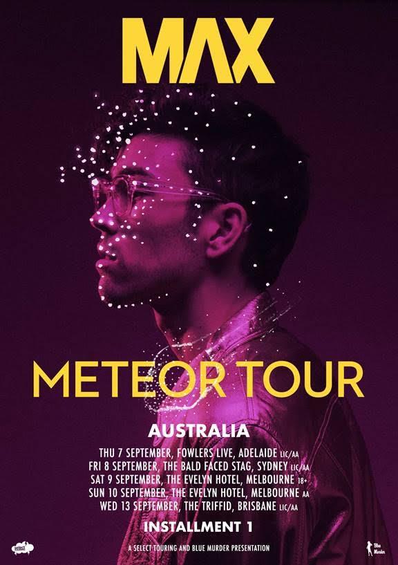 Max Australian Tour