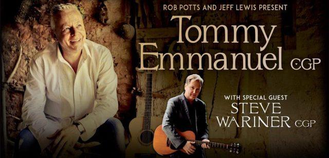 Tommy Emmanuel Tour Banner