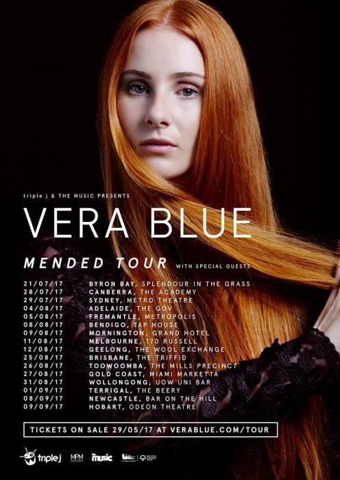 Vera Blue Tour Poster