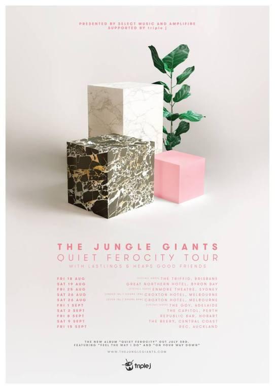 Jungle Giants Tour Poster