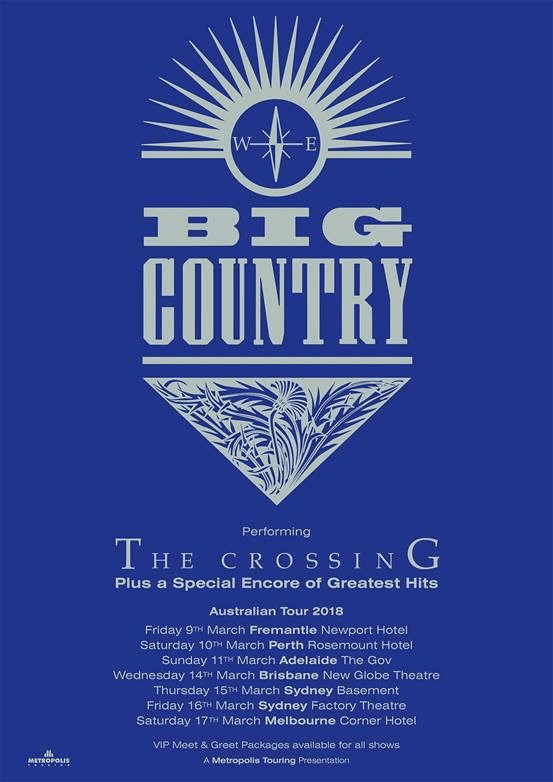 Big Country Tour Poster