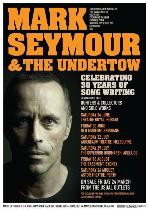 Mark Seymour Tour Poster
