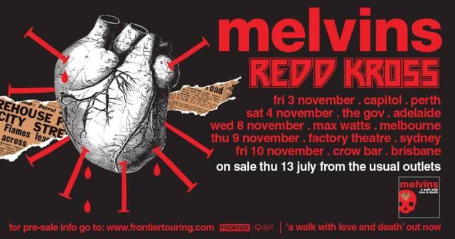 Melvins Tour Banner
