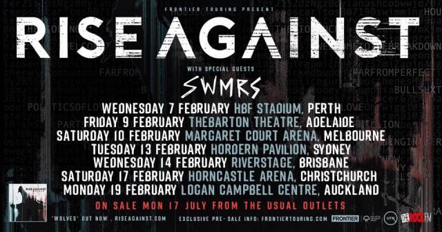 Rise Against Tour Banner