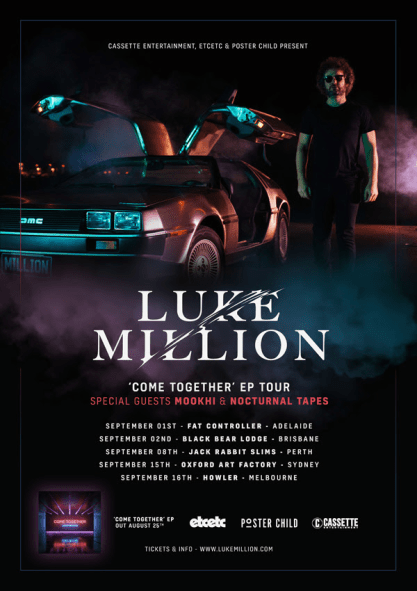 Luke Million Tour Poster