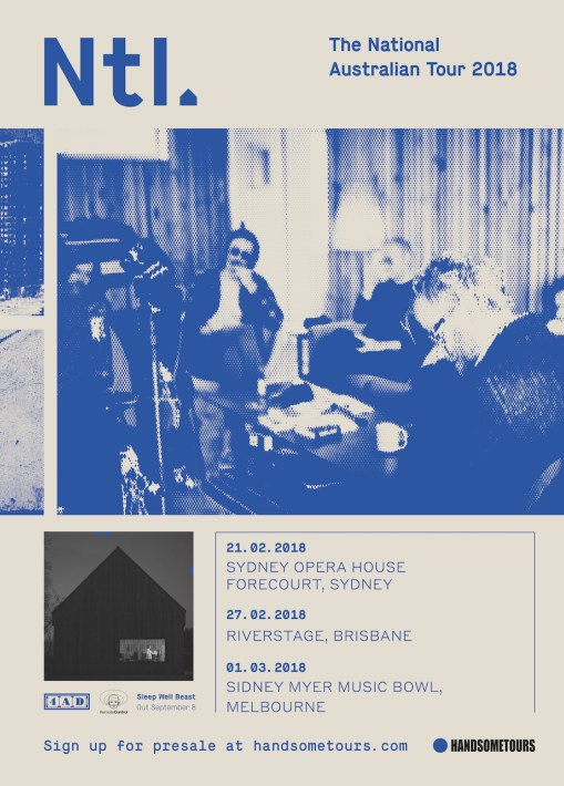 The National Tour Poster