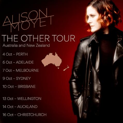 Alison Moyet Tour Poster