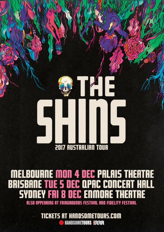 The Shins Tour Poster