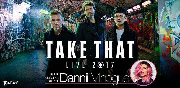 Take That Tour Banner