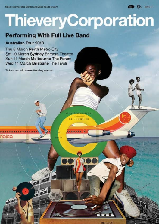 Thievery Corporation Tour Poster
