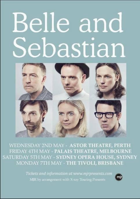 Belle & Sebastian Tour Poster