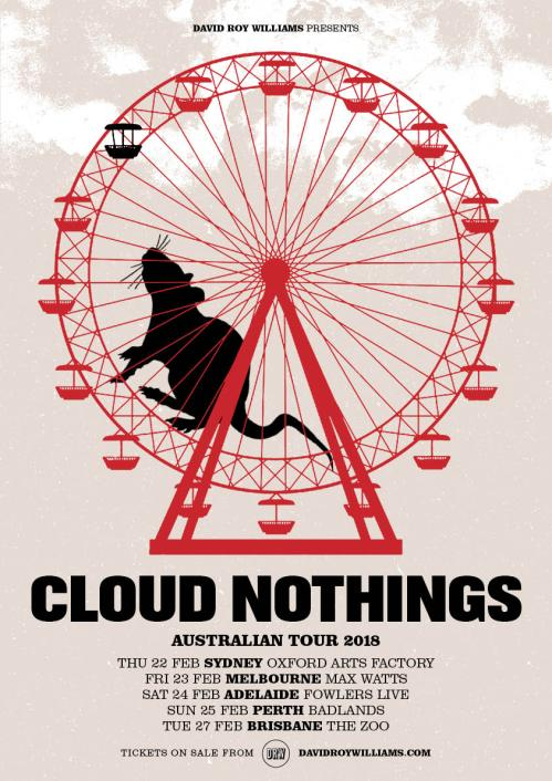 Cloud-Nothings Tour Poster