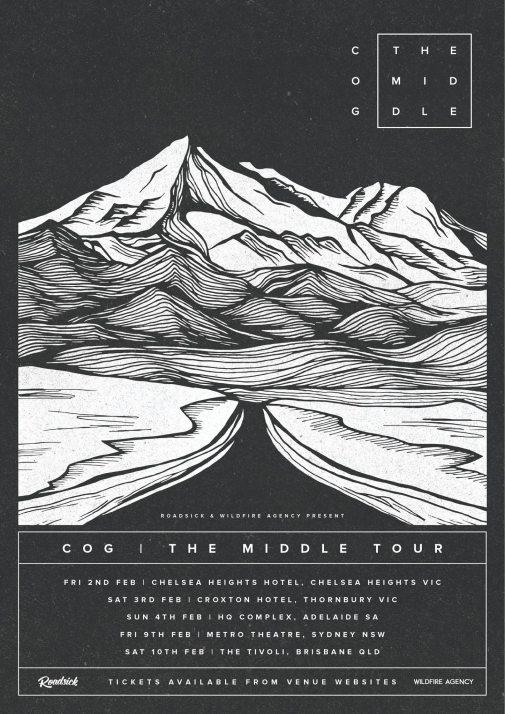 Cog Tour Poster