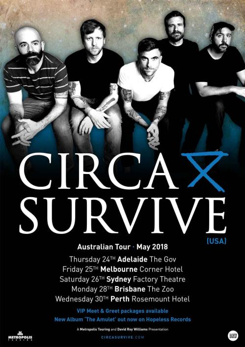 Circa Survive Tour Poster