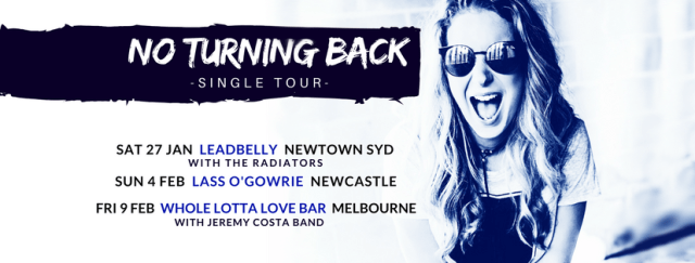 Toni & The Stonehearts Tour Banner