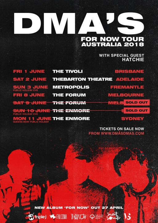 DMA's Tour Poster - Updated