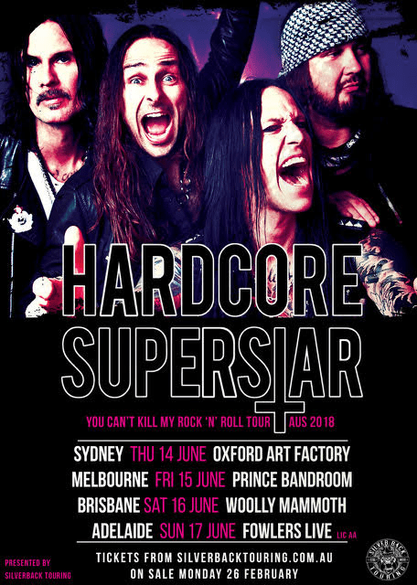 Hardcore Superstar Poster