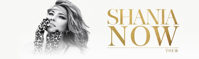 Shania Now Banner
