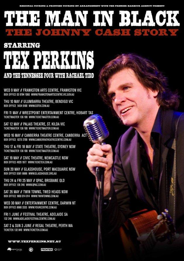 Tex Perkins - Man In Black