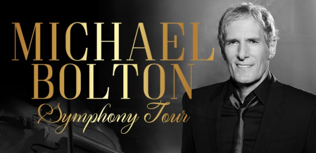Michael Bolton Symphony Tour Banner