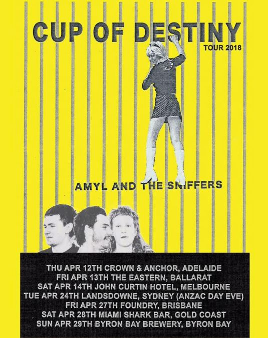 Amyl & The Sniffers Tour Poster