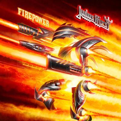 Judas Priest - Firepower Album Cover