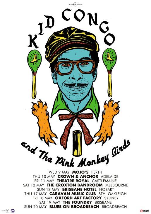 King Congo Tour Poster