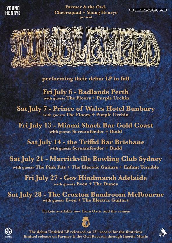 Tumbleweed Tour Poster