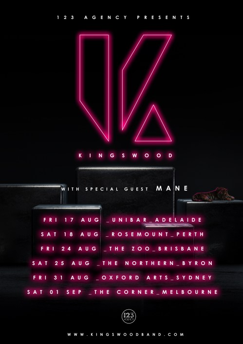 Kingswood Tour Poster
