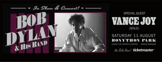 Bob Dylan Adelaide Banner