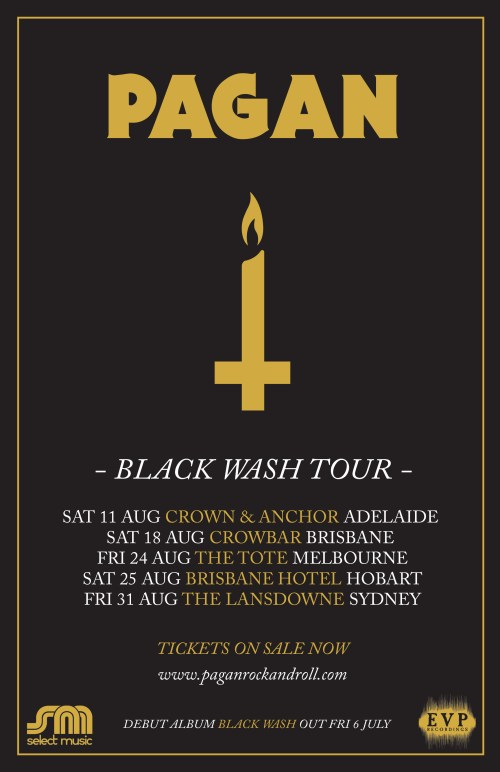 Pagan Tour Poster