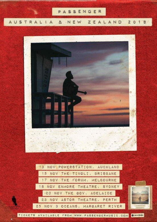 Passenger Tour Poster
