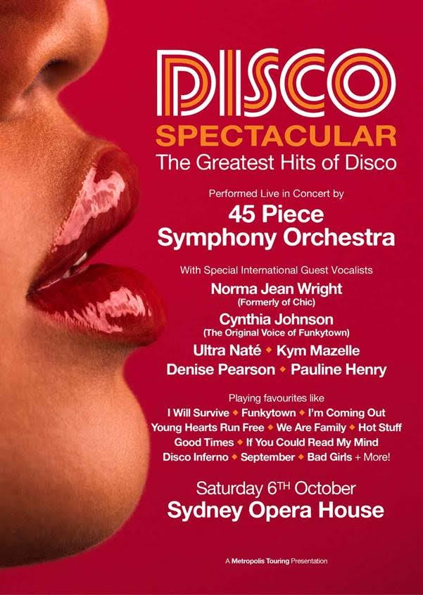Disco Spectacular Poster