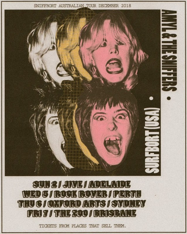 Amyl & The Sniffers - December Tour