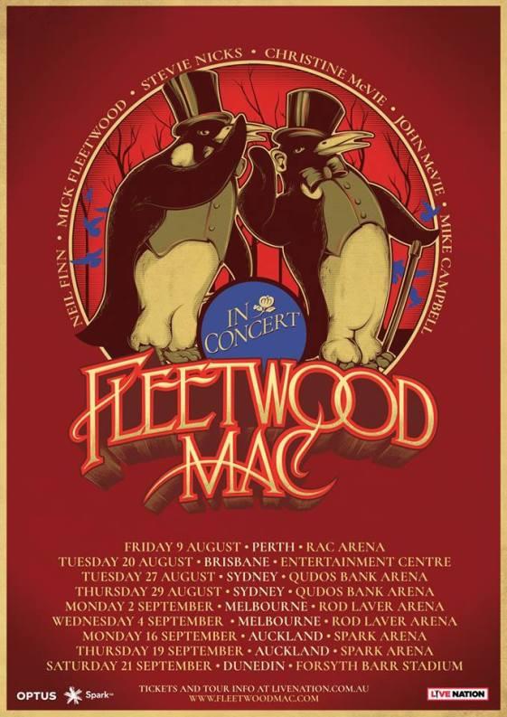 fleetwood mac tour poster