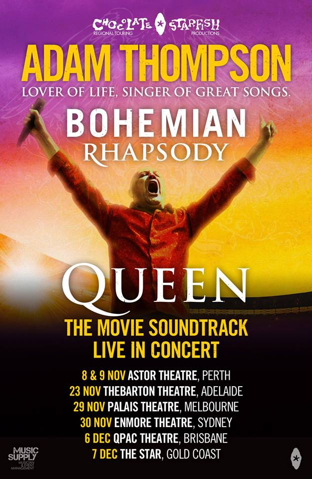 Adam Thompson - Bohemian Rhapsody Tour Poster.jpg