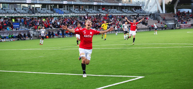 Pekka Sihvola on IFK:n paras maalintekijä 8 maalilla. Kuva: Jere Nevalainen