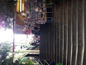 ポッティンガーストリートの屋台