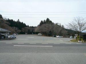 3月上旬の下千本駐車場
