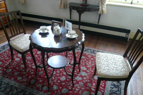 旧イギリス領事館の中の雰囲気