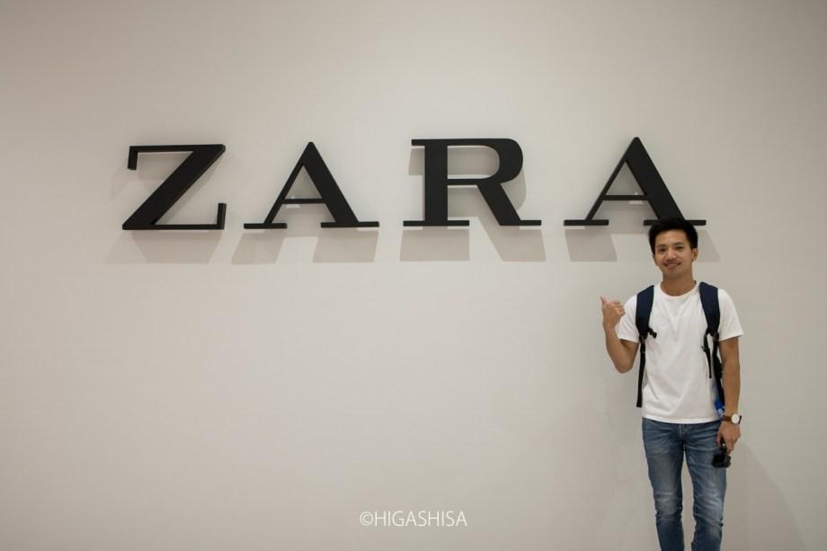 ZARAは8月オープン予定
