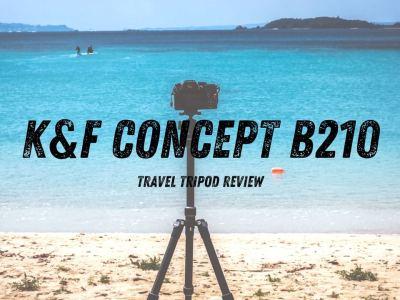 K&FCONCEPT B210 トラベル三脚